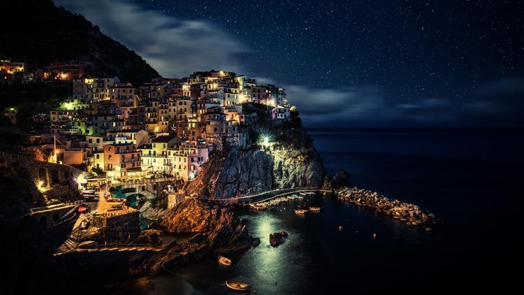 Santorini- Gece-Fotoğrafları