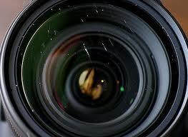 çizik lens objektif