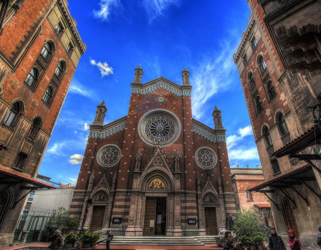 Saint st sen sent antuan katolik kilisesi
